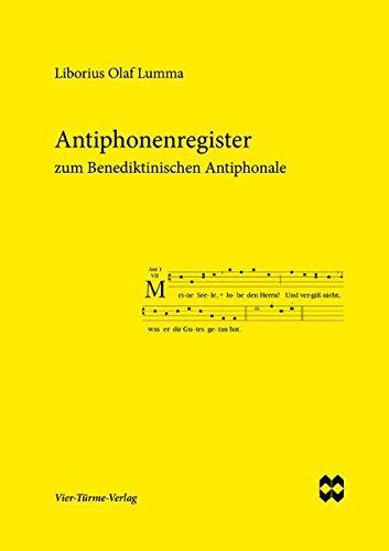Buchcover Antiphonenregister