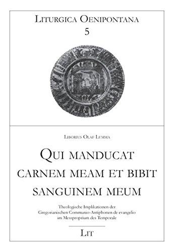 Buchcover Qui manducat