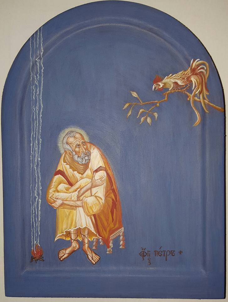 Petrus-Ikone (geschrieben von Angela Straberger)