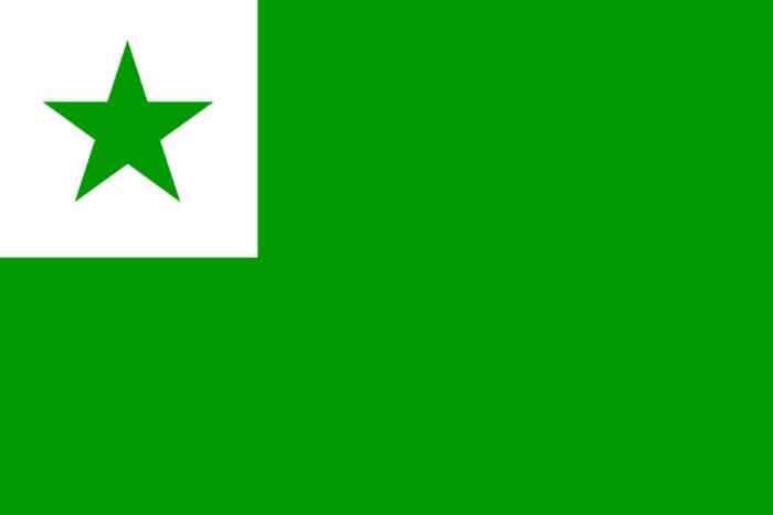 Flagge Esperanto